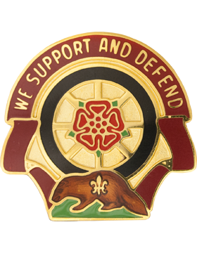 1461 Transportation Company Unit Crest (We Support And Defend)