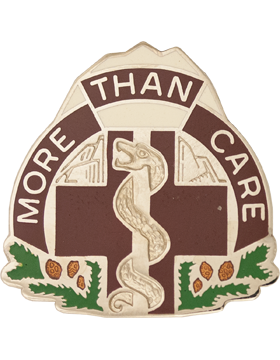1984th Hospital Unit Crest (More Than Care)