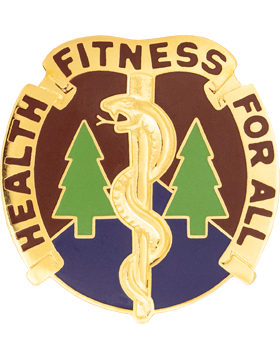 3274 Hospital Unit Crest (Health Fitness For All)