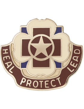 3297 Hospital Unit Crest (Heal Protect Lead)