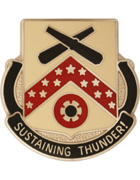 3643 Support Bn Unit Crest (Sustaining Thunder)