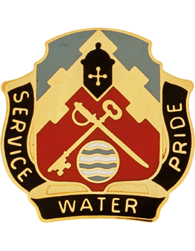 3678 Support Battalion Unit Crest (Service Water Pride)