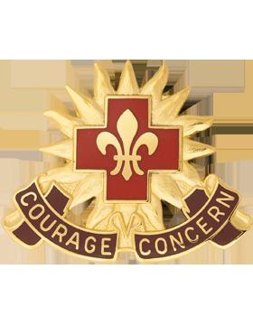 5010 Hospital Unit Crest (Courage Concern)