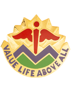 5502 Hospital Augmentation Unit Crest (Value Life Above All)