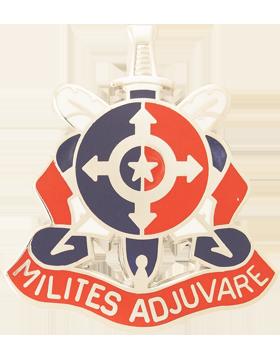 Adjutant General Ctr Reserve Components P&A Center Unit Crest (Milites Adjuvare)