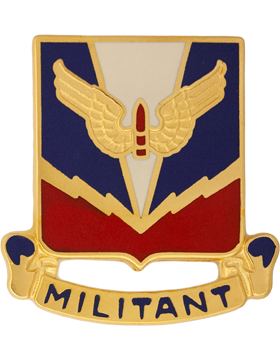 Air Defense School Unit Crest (Militant)