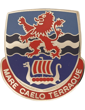 Allied Forces Northwestern Europe Unit Crest (Mare Caelo Terraque)