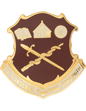 Academy Of Health Science Unit Crest (To Conserve Fighting Strength)