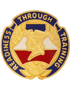 Reserve Readiness Training Center Unit Crest (Readiness Through Training)