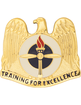 Aviation Training Site (Left) Unit Crest (Training For Excellence)