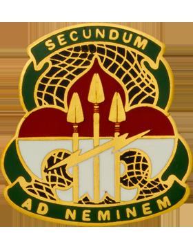 Army Cyber Command Unit Crest (SECUNDUM AD NEMINEM)