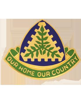 Virgin Islands State Headquarters Army National Guard Unit Crest
