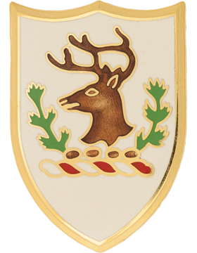 Vermont State Headquarters Army National Guard Unit Crest (No Motto)