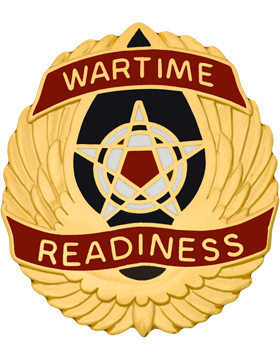National Guard Operational Support Airlift Cmd Unit Crest (Wartime Readiness)