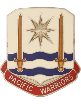 US Army Pacific Unit Crest (Pacific Warrior)