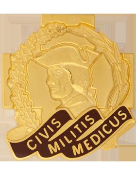 Army Reserve Medical Cmd Unit Crest (Civis Militis Medicus)