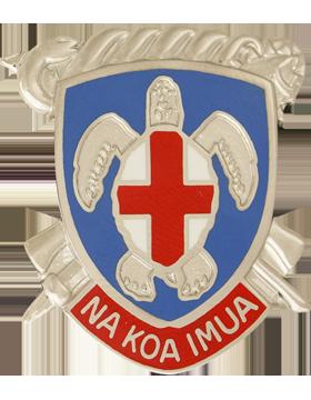 Regional Health Cmd Pacific Unit Crest (Na Koa Imua)