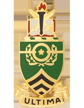 Sergeants Major Academy Unit Crest (Ultima)