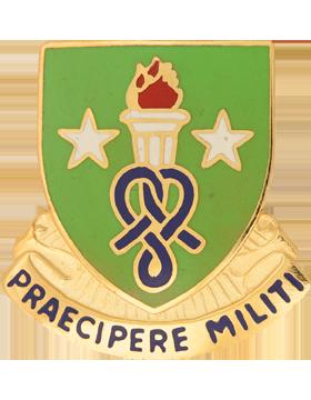 Soldier Support Institute Unit Crest (Praecipere Militi)