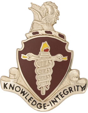 Veterinary Command Unit Crest (Knowledge - Integrity)