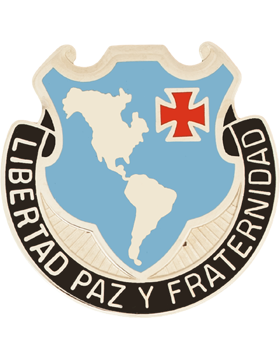 Western Hemis Institute Sercurity Coop Unit Crest (Libertad Paz Y Fraternidad)