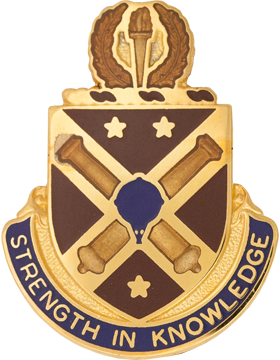 Warrant Officer Career Center Unit Crest (Strength In Knowledge)