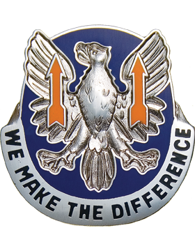 11th Aviation Brigade Unit Crest (We Make The Difference)