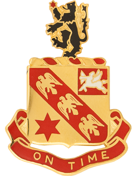 11th Field Artillery Unit Crest (On Time)