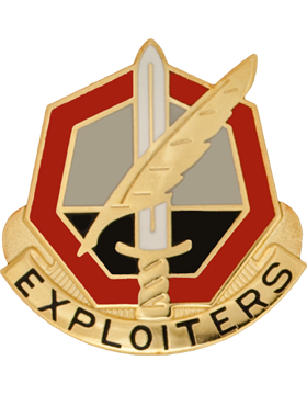 11th Phychological Operations Battalion Unit Crest (Exploiters)