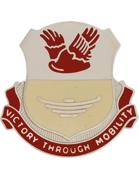 0026 Support Bn Unit Crest (Victory Through Mobility)