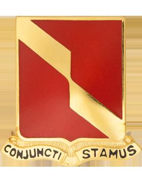 0027 Field Artillery Unit Crest (Conjuncti Stamus)