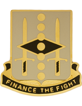 0027 Finance Bn Unit Crest (FInance The Fight)