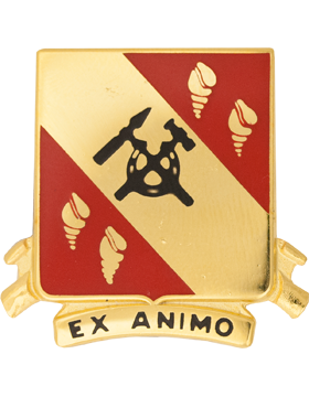 0027 Support Bn Unit Crest (Ex Animo)