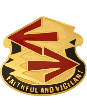 0028 Air Defense Artillery Group Unit Crest (Faithful And Vigilant)