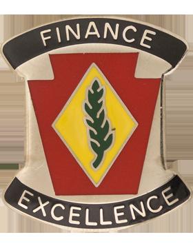 0028 Finance Bn Unit Crest (Finance Excellence)