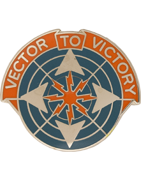 0029 Air Traffic Control Group Unit Crest (Vector To Victory)