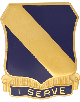 0051 Infantry Unit Crest (I Serve)