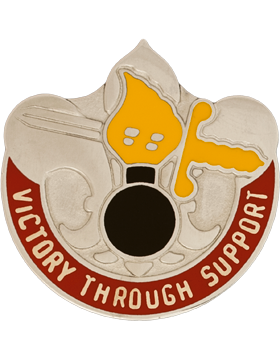 0051 Maintenance Battalion Unit Crest (Victory Through Support)