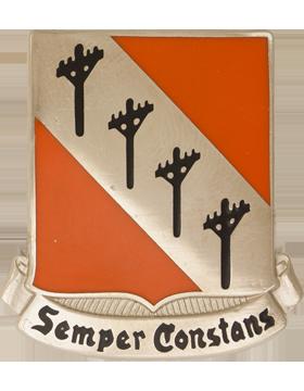 0051 Signal Battalion Unit Crest (Semper Constans)