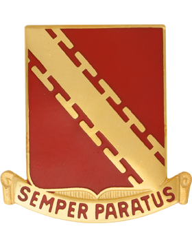 0052 Air Defense Artillery Unit Crest (Semper Paratus)