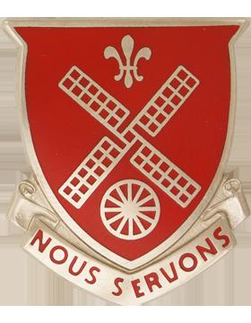 52nd Engineer Battalion Unit Crest (Nous Servons)