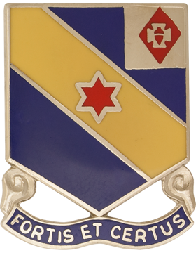 52nd Infantry Unit Crest (Fortis Et Certus)