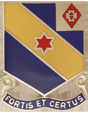 0052 Infantry Unit Crest (Fortis Et Certus)