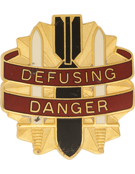 0052 Ordnance Group Unit Crest (Defusing Danger)