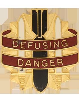 52nd Ordnance Group Unit Crest (Defusing Danger)