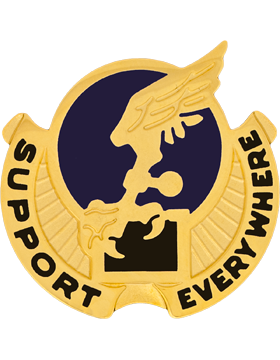0053 Aviation Battalion Unit Crest (Support Everywhere)
