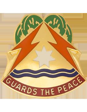 53rd Signal Battalion Unit Crest (First Last Always)