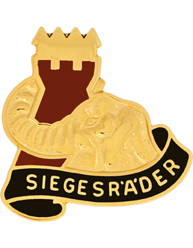 0053 Transportation Battalion Unit Crest (Siegesr'A'Der)