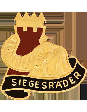 0053 Transportation Battalion Unit Crest (Siegesr'A'Der)