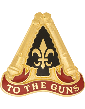 0054 Field Artillery Brigade Unit Crest (To The Guns)